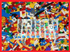 500g Loose LEGO with 2 x Minifigures